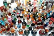 Big Theft Of Small Booze Bottles